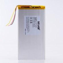 3 линии 3285170 3,7 V 6000MAH литий-полимерный аккумулятор для Prestigio grace 3101 4g 7 дюймов 8 дюймов 9 дюймов 3285168 3085170 alldocube m5xs