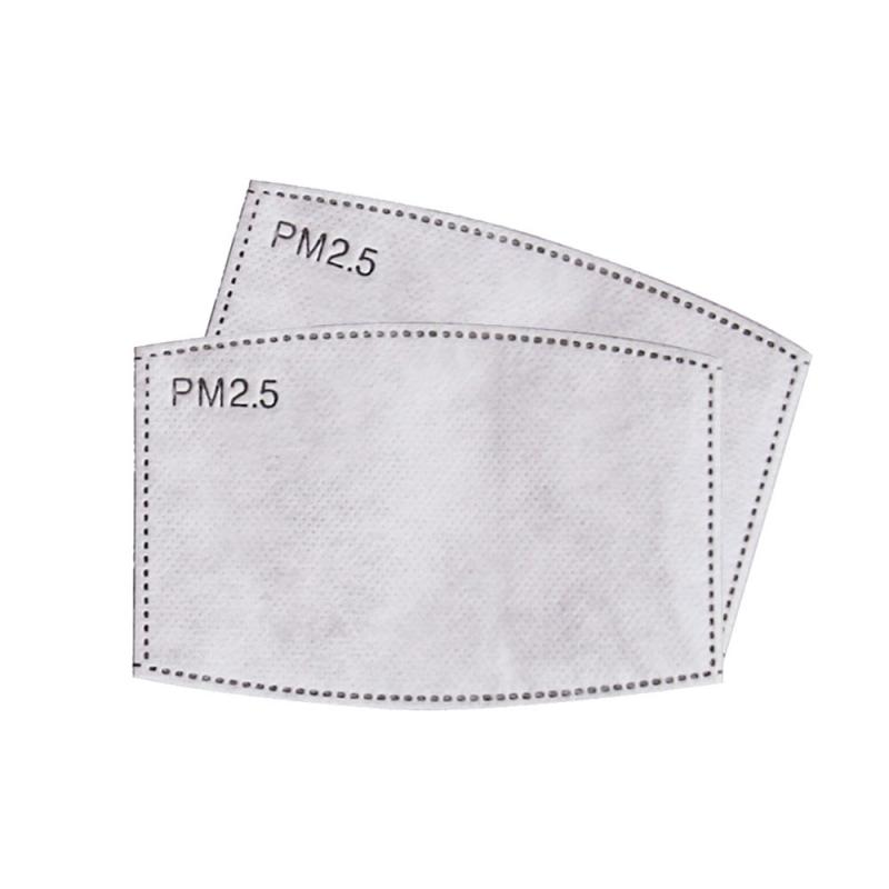 5 Layer Disposable Masks Gasket Safety Anti Dust And Haze Breathable Mouth Face Mask Replacement Pad Square Cotton Mat