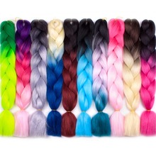 Xnaira Afro Fake Xpression Pre Stretched Braiding Hair Extensions For B