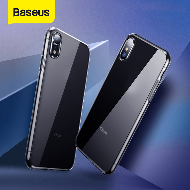 Iphone 11 Pro Max Case | Baseus Ultra Thin Transparent Case For IPhone 11 Pro Max Case Luxury Soft Silicone Back Cover For IPhone 11 Pro X Xs Max XR Case