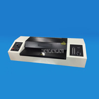 PD 330T 620W A5/A4 Size Paper Hot/Cold Laminator Film Coating Fast Speed 10 Gear Temperature Adjustable Film Laminating Machine