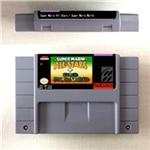 Image 1 - スーパーマリシリーズゲーム残忍なマリ世界オールスターズbros. 3X第二現実プロジェクトrpgゲームカードus版バッテリーセーブ