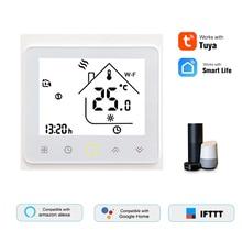 Термостат для водонагревательного котла Smart Home WiFi, цифровой контроллер температуры APP/VoiceControl Amazon Google Home, ЖК-дисплей