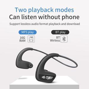 Image 3 - Cyboris Swimming Bluetooth Earphone Ipx8 Waterproof 16GB Wireless Mp3 Player Headset Sports Bathing Running Wireless Earbud