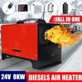 Все в одном 8 кВт 12 В/24 В автомобильный нагревательный инструмент ЖК-монитор парковочный обогреватель Дизели воздушный обогреватель одно от...