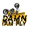 DAWN I AM FLY Motocross Car Sticker Coloful Decals Motorcycle Accessories Auto Laptop Trunk Waterproof Vinyl Fuel Tank Decals