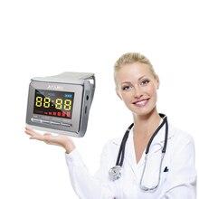 Reloj láser de Tinnitus para pérdida de audición, dispositivo médico para curar la Diabetes y fisioterapia