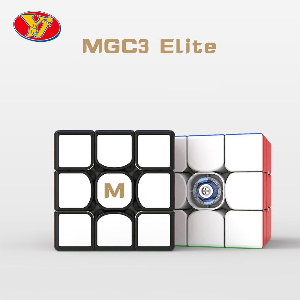 YJ MGC 3x3x3 Elite Magnetic Speed Cube MGC 3*3 V2 YongJun YuLong V2 M Educational Toys Game Cubo Magico Puzzle