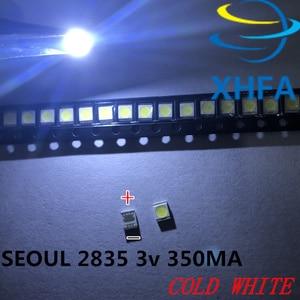 2000 шт. для LG оригинальный светодиодный светильник для ЖК-телевизора с бусинами 1 Вт 3 в 3528 2835 холодный белый светильник