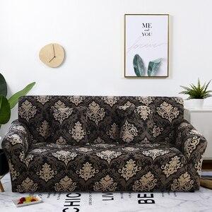 Image 1 - Capa de sofá apertada, capa de sofá com elástico para cobrir, cobertura de sofá para sala de estar, 1 peça sofá
