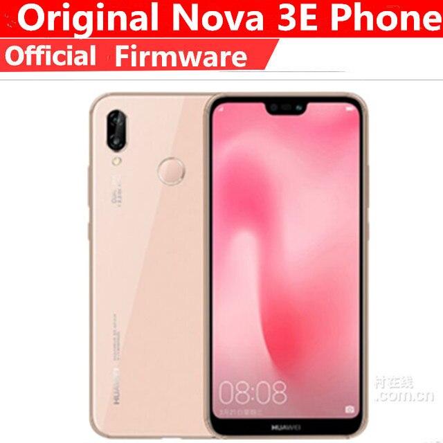 "Huawei P20 Lite Nova 3E Global Firmware 4G Lte Mobiele Telefoon Gezicht Id 5.84 ""Scherm Android 8.0 24MP front Camera 4Gb 128Gb Rom"