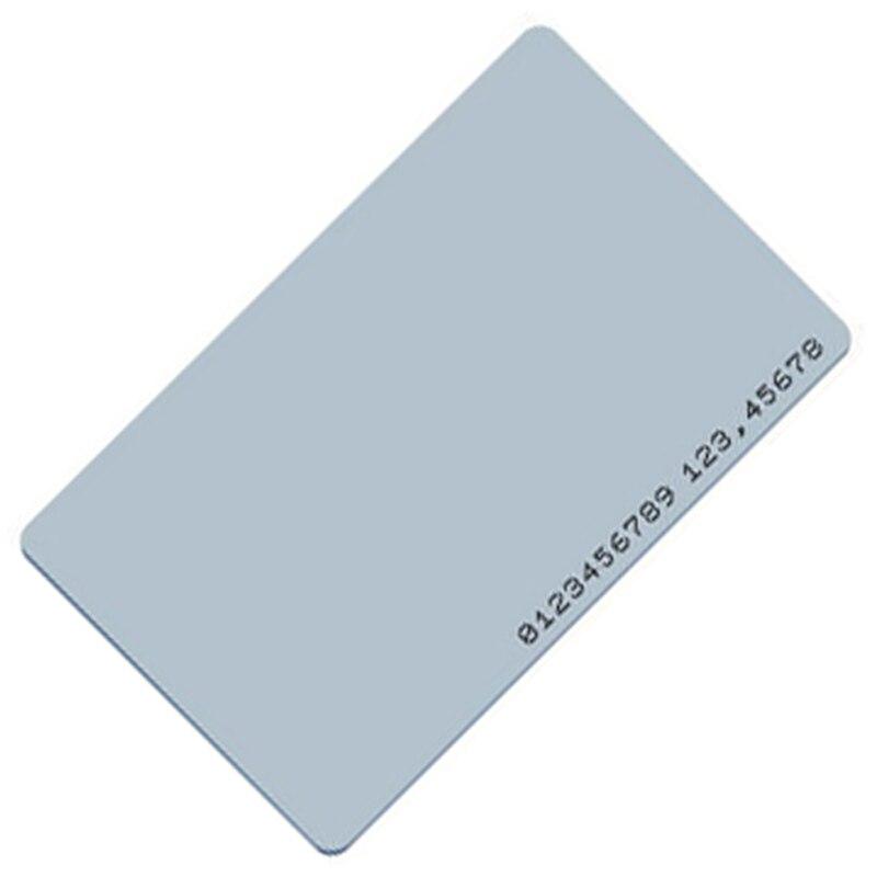 10Pcs/lot 125khz TK4100 Clamshell EM Marine Card Thick RFID Card Access Control ID Card Read Only Mango Card