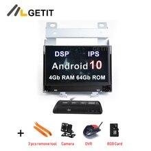 DSP IPS Android 10 samochodowy odtwarzacz DVD multimedialne Radio GPS Stereo dla Land rovera Freelander 2 2007 2012 Radio GPS Stereo