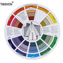 Guide Tattoo-Pigment Permanent Ink-Color Eyebrow for Lip Wheel-Chart
