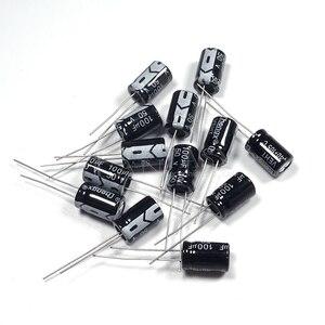 Image 2 - 50 قطعة Higt جودة 50V100UF 8*12 مللي متر 100 فائق التوهج 50V 8*12 مُكثَّف كهربائيًا