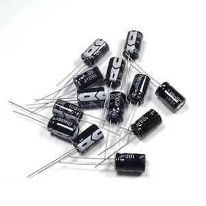 Image 2 - BỘ 50 Higt chất lượng 50V100UF 8*12mm 100UF 50V 8*12 Điện Phân tụ điện