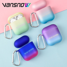 For Apple Airpods Case Unique Gradient Protective Wireless Bluetooth Earphone for 2/1 Accessories