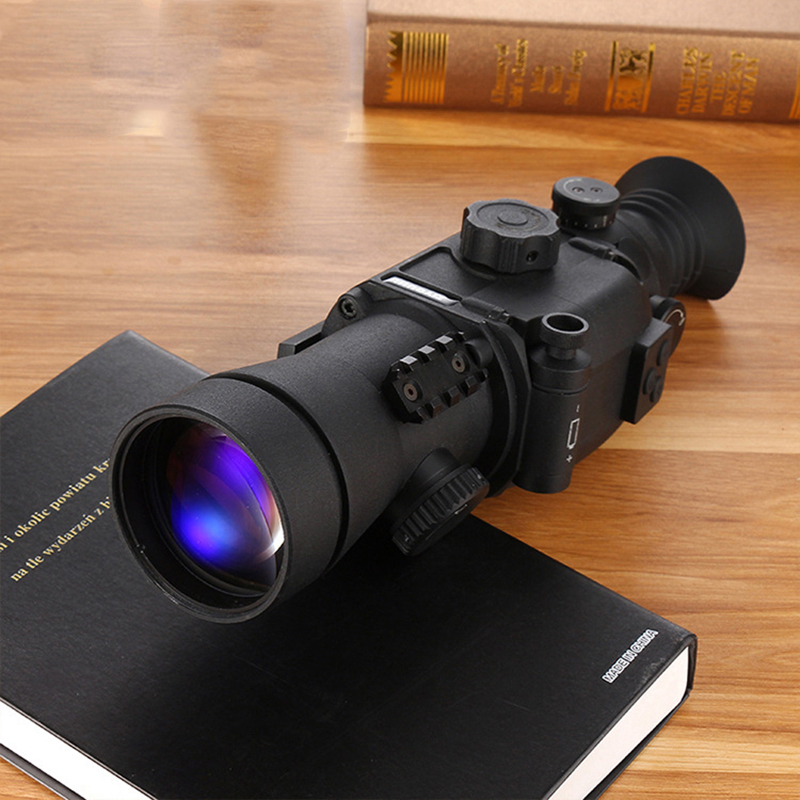 DN650 Generation 6-fold Night Sight Cross High Definition Infrared Vision Hunting Telescope