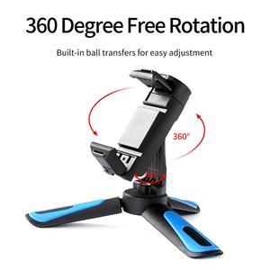 Image 3 - TELESIN Mini Selfie Stick ขาตั้งกล้อง360 ° Ball Head & เย็นรองเท้าคลิปโทรศัพท์สำหรับ GoPro Osmo Action Insta360 iPhone android Monopod
