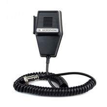 CM4 CB Radio Speaker Mic Microphone 4 Pin for Cobra/Uniden Car Walkie Talkie(China)