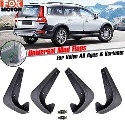 Mudflaps Mud Flaps Respingos Protege Mudguards 4pcs Universal Dianteiro Traseiro Para Volvo C30 S40 S60 S70 S80 V40 V50 v60 V70 XC70 XC90