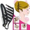 Профессиональная заколка для волос Инструменты для укладки офисные женские плетеные инструменты для волос Flaxen салонные Инструменты Аксес...