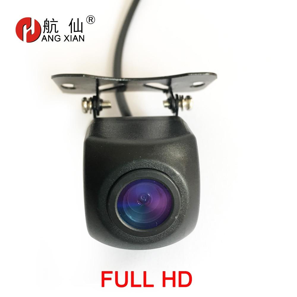 HANGXIAN AHD Auto kamera universal rückansicht kamera 1080P reverse kamera nacht version parkplatz kamera für auto radio