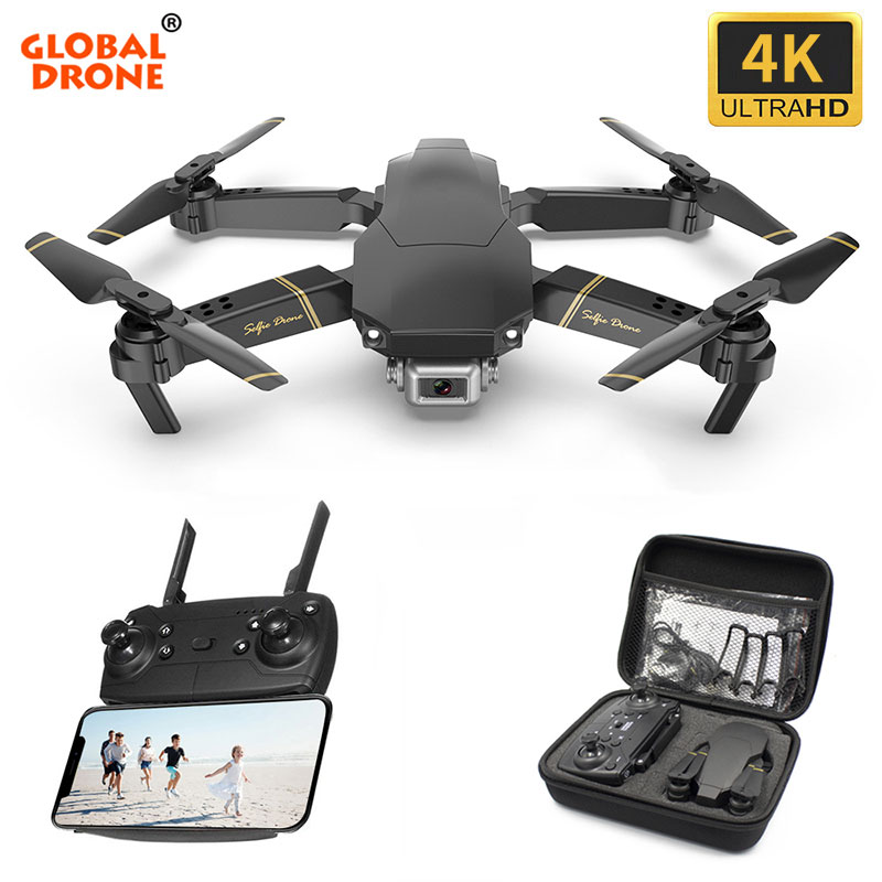 Global Drone Camera Rc Helicopter E58-E520 4K with HD Live-Video FPV VS EXA