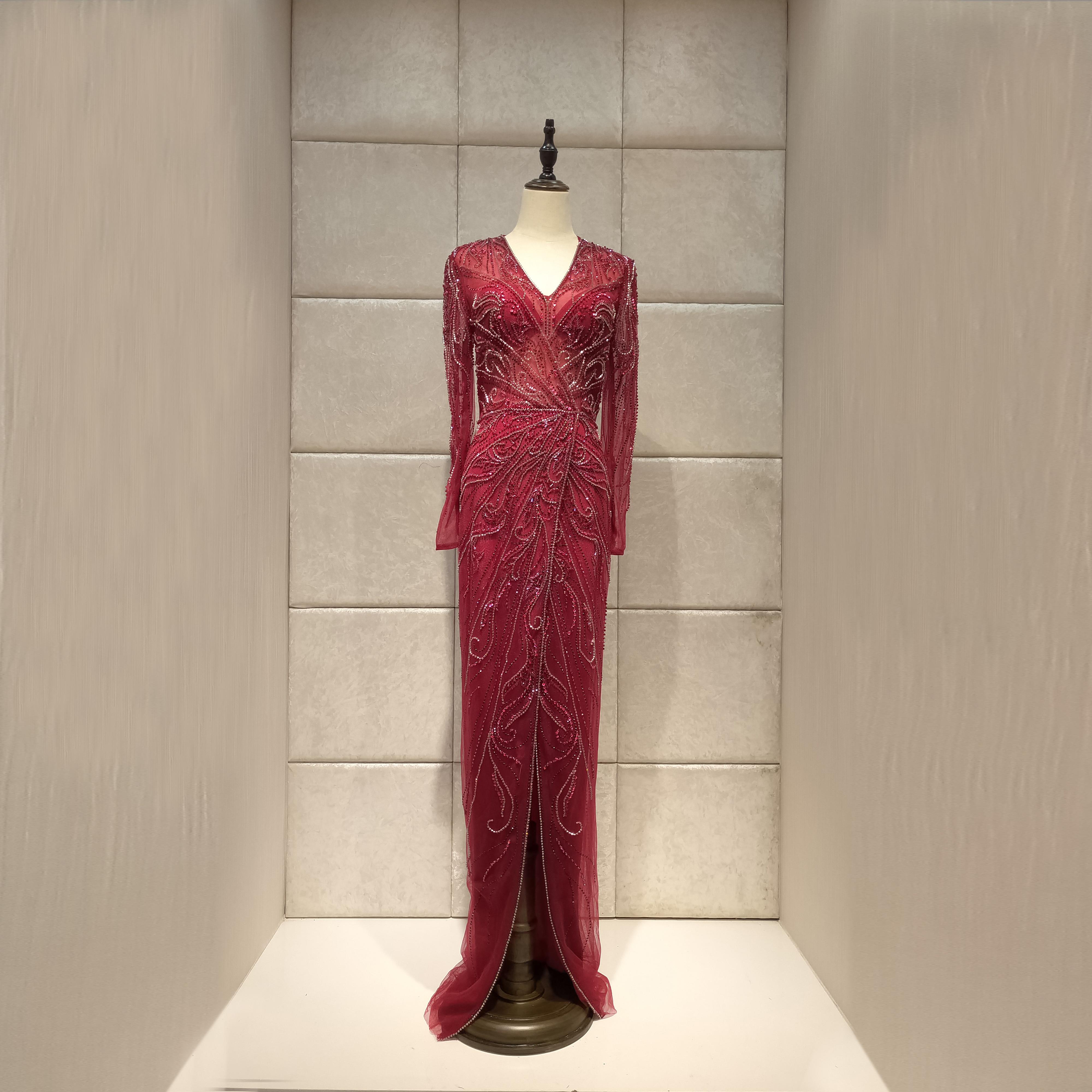 Image 5 - mermaid Evening dress 2019new vestidos de fiesta de noche robe de soiree  dress party serene hill-in Evening Dresses from Weddings & Events