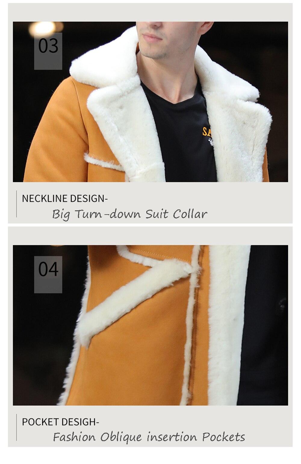 Hd53e4a1655a64429b1c1c56b3ea0ade3s Men Luxury Fur Shearling Coat Yellow Soft Thicken Fur Coat Winter Male Formal Business Fur Sheepskin Jackets
