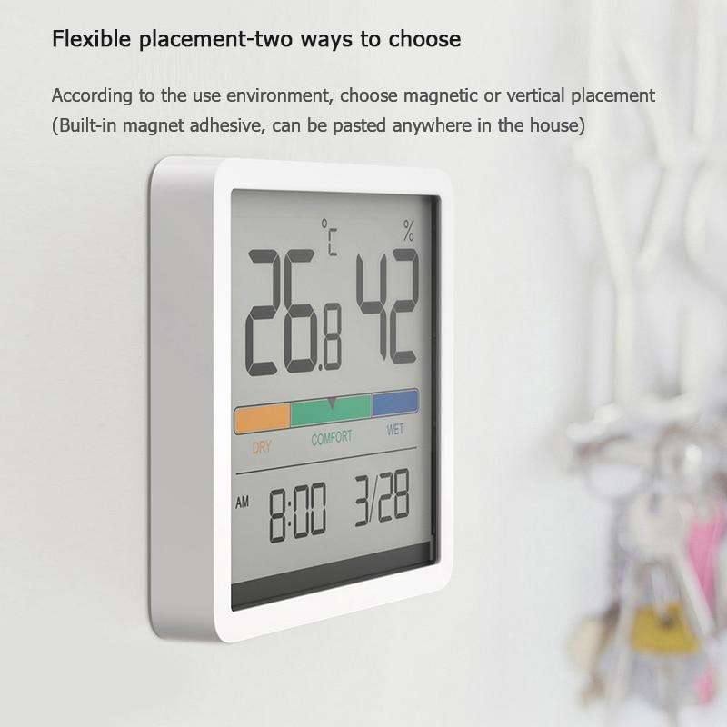 Miiiw mudo temperatura e umidade relógio casa