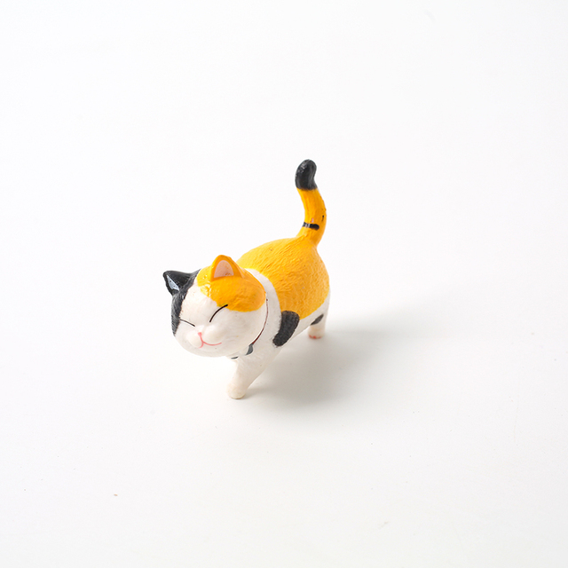 Lovely Cat Ornaments Creative Girl Ornaments Student Personality Home Decoration Accessories Desktop Model Birthday Gif 5