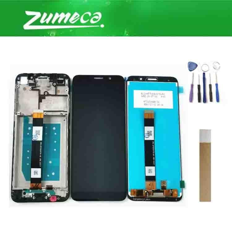 5.45 polegada para huawei honor 9s DUA-LX9 display lcd com tela de toque para huawei y5p 2020 lcd DRA-LX9 com quadro com kits
