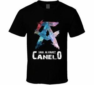 Canelo Saul Alvarez New Boxing Mexican Professional Boxer WBC WBA Mens T Shirt(China)
