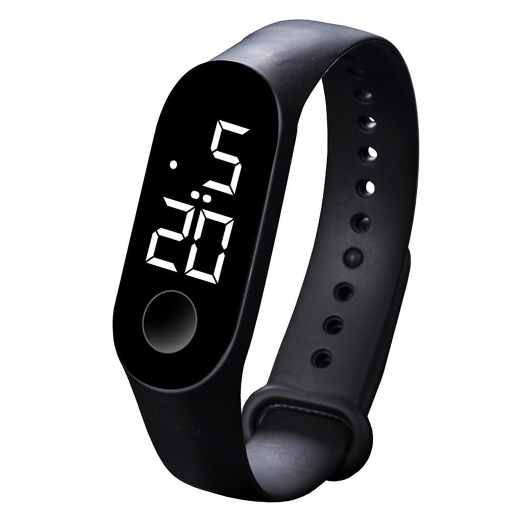 Hd53f0437452d46e79fa905fc27a3bf42z LED Electronic Sports Luminous Sensor Watches Fashion Men and Women Watches Dress Watch  fashion Waterproof Men's digital Watch