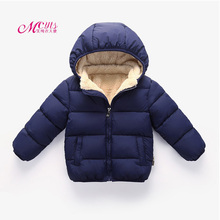 цена на Baby Boys Jackets 2019 Autumn Winter Kids Jacket For Girls Warm Thick Hooded Outerwear Boy Coat Children Clothes 1 2 3 4 5 Years