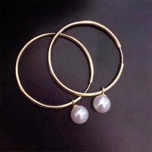 Женские серьги «сделай сам» из серебра 925 пробы с жемчугом