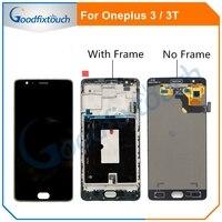 TFT LCD Display Für Oneplus 3 3T A3000 A3010 LCD Display Touchscreen Digitizer Assmebly Für Oneplus 3T ersatz Teile Handy-LCDs Handys & Telekommunikation -