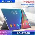 2021 Новое поступление Android 9,0 планшетный ПК 10 дюймов Большой экран IPS 6G + 128 Гб планшет 4G Интернет, Wi-Fi, FM, GPS Bluetooth 4,0