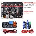 BIGTREETECH SKR V1.4 BTT SKR V1.4 турбо плата управления 32 бит мини UPS 24 В реле V1.2 части 3d принтера SKR V1.3 TMC2209 TMC2208