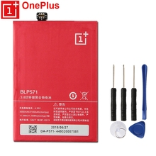 OnePlus Original Replacement Phone Battery BLP571 For 1+1 OnePlus 1 Authenic Rechargable Battery With Free Tools 3100mAh цена и фото