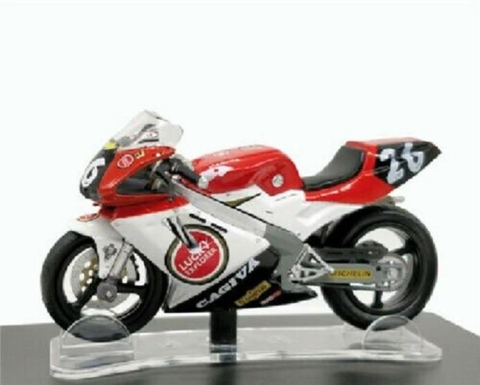 Leo 1:18 ROSSI Cagiva Mito EV Campionato Sport Production 1994 Bike Model NEW IN BOX