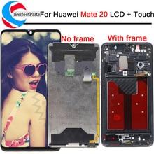 ЖК дисплей 6,53 для Huawei mate 20 с сенсорным экраном и дигитайзером в сборе, Замена для Huawei mate 20, LCD HMA L29 L09 LX9 AL00