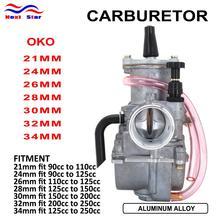 Carburetor Keihin Racing Moto 90cc-250cc for Oko-21 24-26/28-30/32/34 with Power-Jet