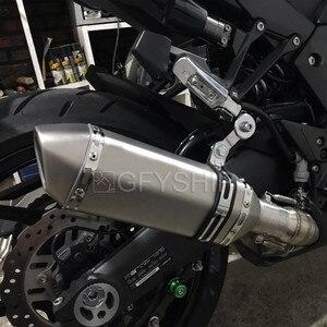 Image 5 - Per Kawasaki Z1000 2010 2017 2018 2019 Z1000SX Ninja 1000 Z1000 Fuga Slip on Moto di Scarico E Mid collegamento Tubo di Sistema
