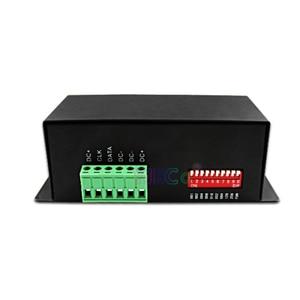Image 2 - Dc 5 v 〜 24 v フルカラーの dmx 512 デコーダ led ストリップ調光器 dmx spi led モジュールコントローラサポート WS2811 WS2812 WS2801 6803 ic