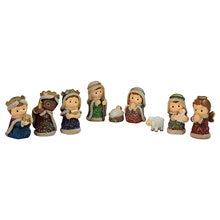 Сцена свет фон Статуэтка Младенцы Иисуса Рождество кроватки