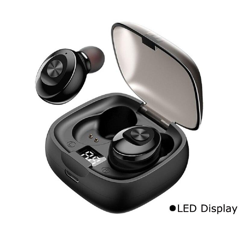 Bluetooth наушники беспроводные Спортивные Мини наушники стерео звук в ухо IPX5 Водонепроницаемый tws 5,0