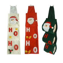 2019 Xmas New Green Santa Claus Towel Set Covers Christmas Holiday Party Toilet Paper Holders Cute Towels for Home Decoration