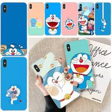 Anime Doraemon DIY Printing Phone Case cover Shell For iphone 6 6s plus 7 8 plus X XS XR XS MAX 11 11 pro 11 Pro Max Cover viviana anime doraemon customer high quality phone case for iphone 6 6s plus 7 8 plus x xs xr xs max 11 11 pro 11 pro max cover